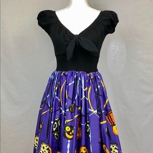 Pinup Couture Halloween Pinup Dress SZ Small